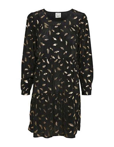 Karen By Simonsen Printed Rampage Dress-ASSORTED-36