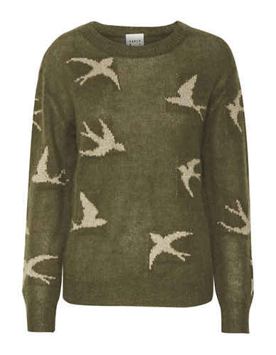 Karen By Simonsen Resource Wool-Blend Sweater-COPPER-Small