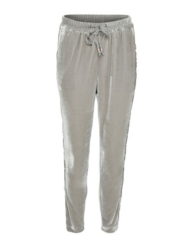 Cream Ilaria Pants-GREY-Small