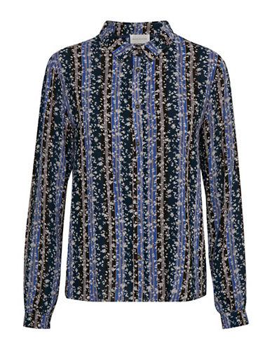 Denim Hunter Kenna Button-Down Shirt-BLUE-40