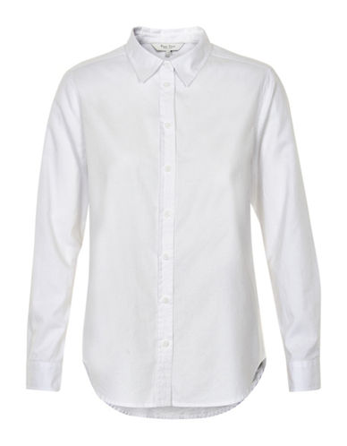 Part Two Chrissie Cotton Dress Shirt-WHITE-36