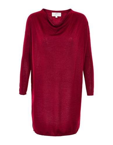 Inwear Wip Wool-Blend Dress-RED-Small 88671806_RED_Small