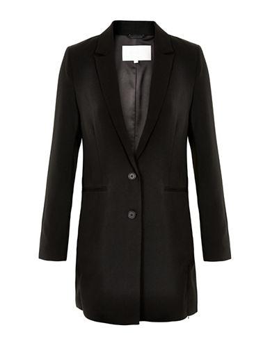 Inwear Bitten Longline Blazer-BLACK-36