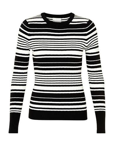 Inwear Yetta Striped Pullover-BLACK-Large 89080064_BLACK_Large