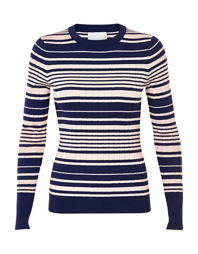 Inwear Yetta Striped Pullover-BLUE-X-Large