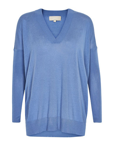 Inwear Dolman Sleeves Pullover-BLUE-X-Small