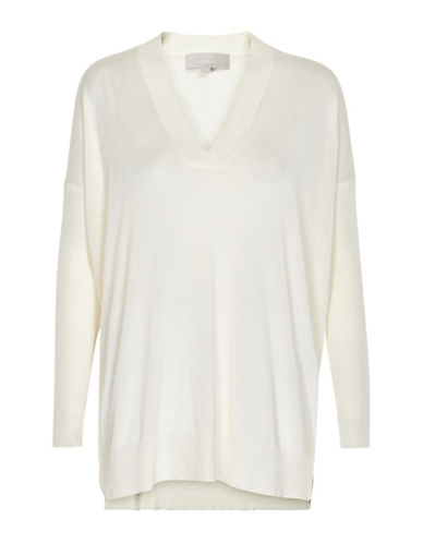 Inwear Dolman Sleeves Pullover-WHITE-Small