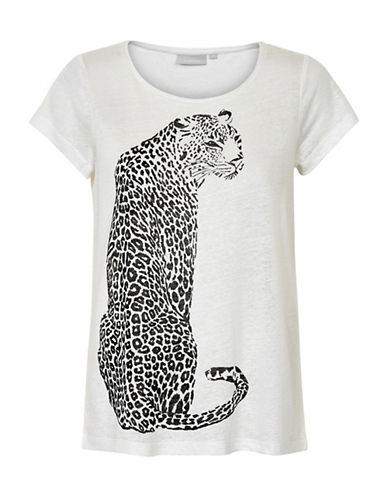 Inwear Yudif Leopard Graphic Tee-WHITE-X-Small 89080188_WHITE_X-Small