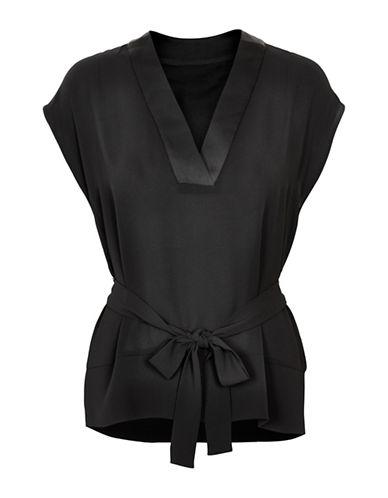 Inwear Gabby Sleeveless Blouse-BLACK-42