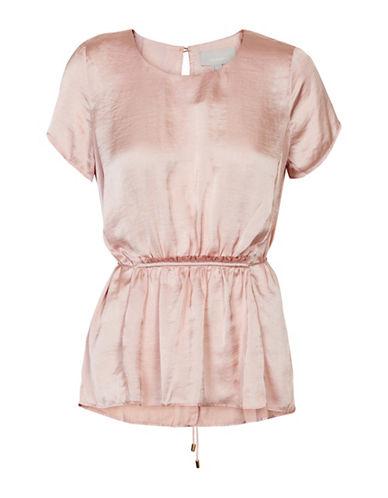 Inwear Glynn Short Sleeve Blouse-PINK-40