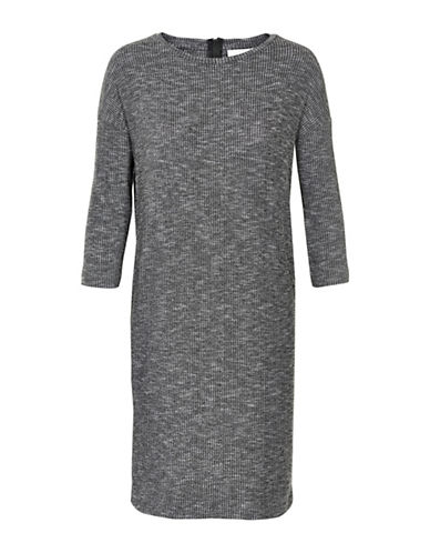 Inwear Yoriko Melange Rib Dress-GREY-Large