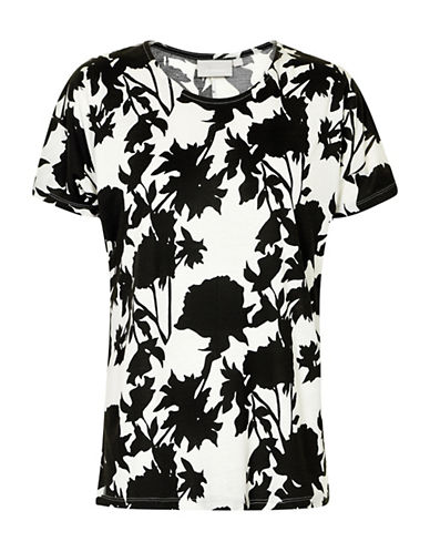 Inwear Yoki Floral T-Shirt-BLACK-X-Small