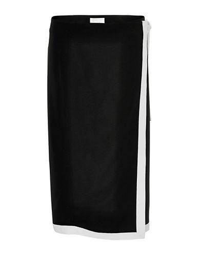 Inwear Zayda A-Line Skirt-BLACK-38