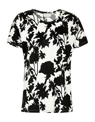 Inwear Yoki Floral T-Shirt-WHITE-Small
