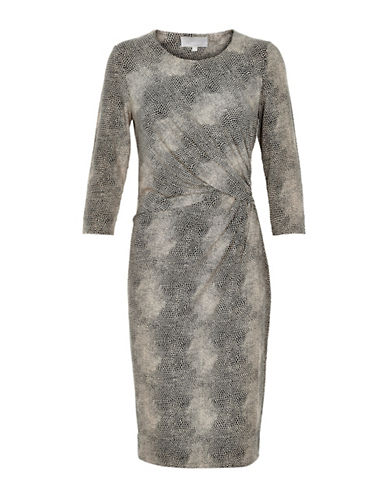 Inwear Cilla Twisted Dress-GREY-Small