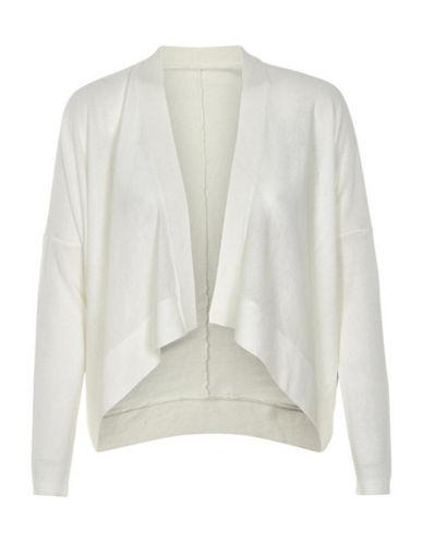 Inwear Cherry Open-Front Cardigan-WHITE-Medium/Large