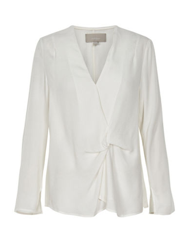 Inwear Bel Gathered Top-WHITE-36