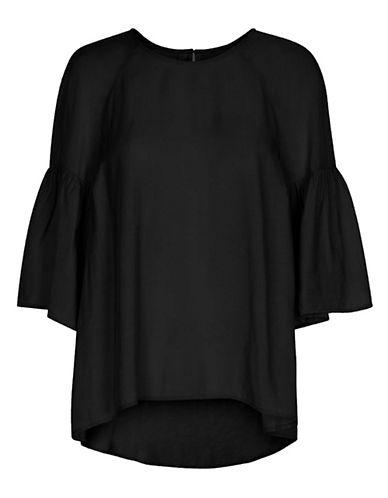 Inwear Banu Bell Sleeve Blouse-BLACK-38