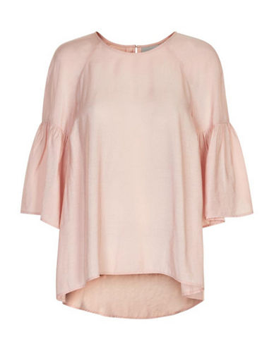 Inwear Banu Bell Sleeve Blouse-PINK-42