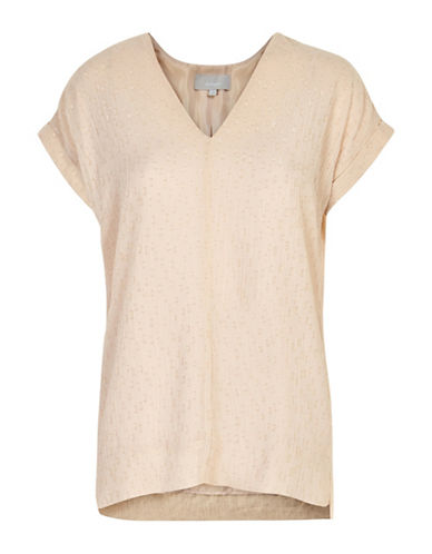 Inwear Blitz Short Sleeve Top-BEIGE-34