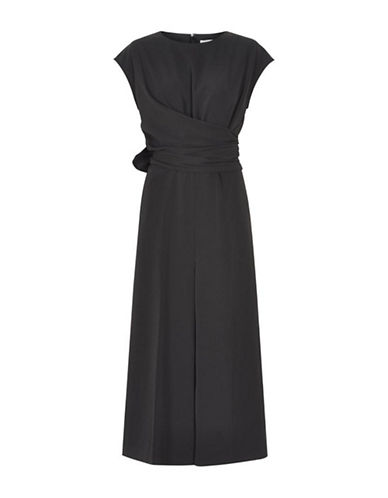 Inwear Abby Wrap Front Jumpsuit-BLACK-40