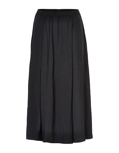 Inwear Wide Leg Crop Pants-BLACK-38