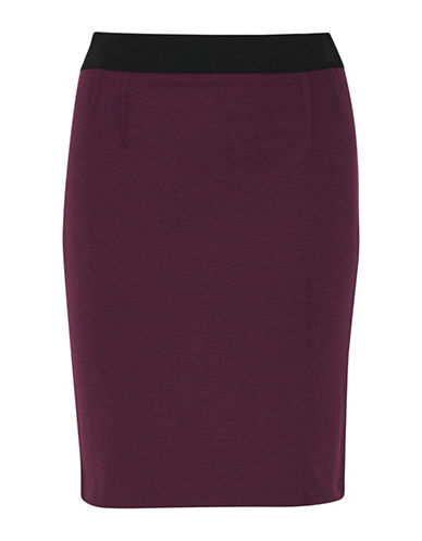 Inwear Olally Knit Pencil Skirt-PINK-38