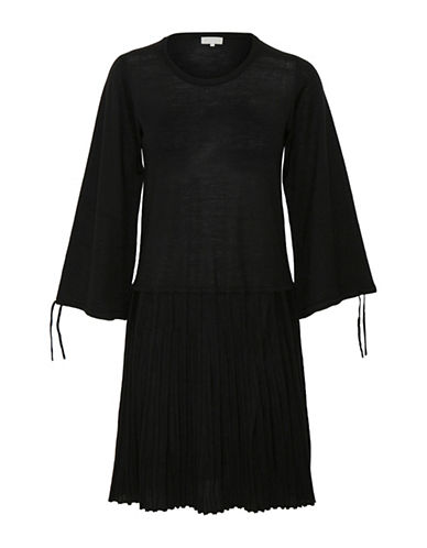 Inwear Neo Merino Wool Dress-BLACK-X-Small