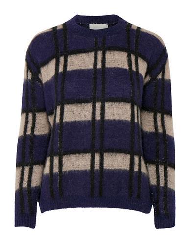 Inwear Nemi Crisscross Pullover-BLUE MULTI-Large