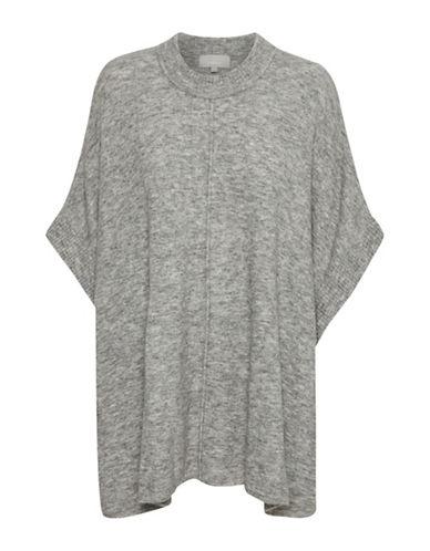 Inwear Nevis Poncho-GREY-One Size