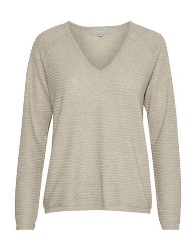 Inwear Natella Raglan Sleeve Pullover-BEIGE-X-Large