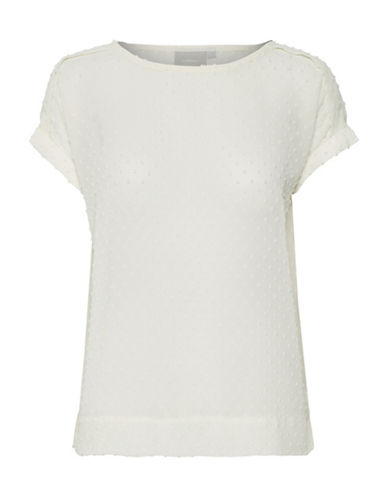 Inwear Melrose Dotted Blouse-WHITE-36