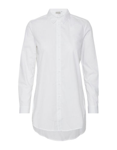 Inwear Majorie Cotton Shirtdress-WHITE-40
