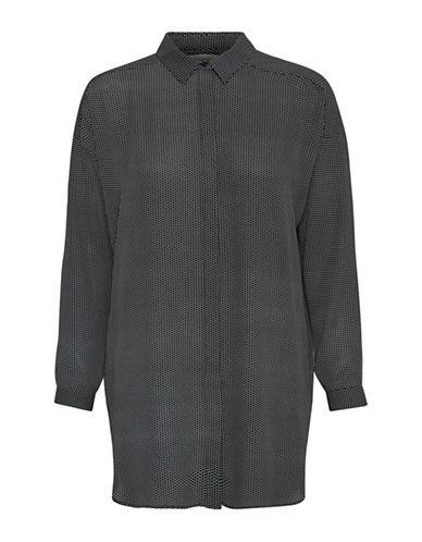 Inwear Miranda Longline Shirt-BLACK-44