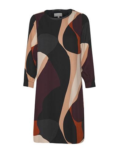 Inwear Muriel A-Line Dress-RED MULTI-38