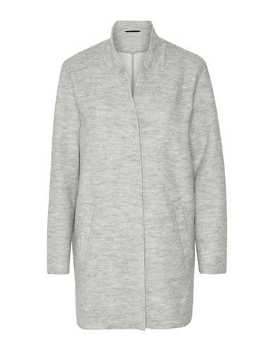 Inwear Wool Blend Leola Car Coat-GREY-38