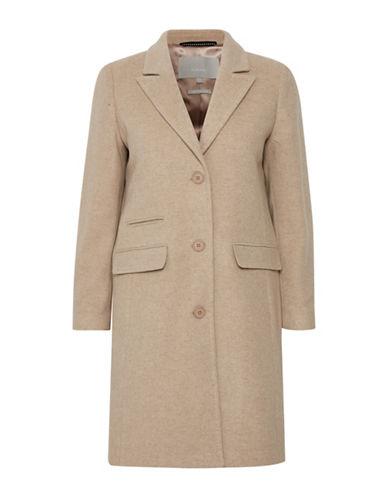 Inwear Lenci Classic Coat-BROWN-40
