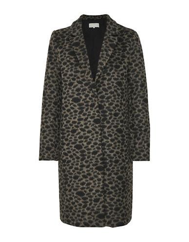 Inwear Lennon Coat-BEIGE/BLACK-32