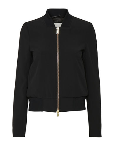 Inwear Lex Zip-Up Jacket-BLACK-40