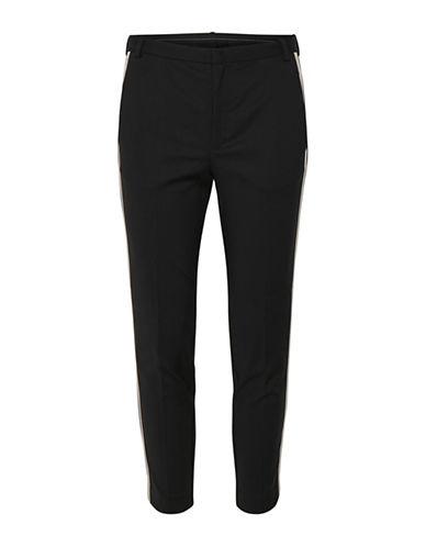Inwear Contrast Detail Pants-BLACK-34
