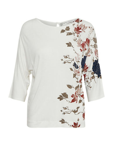 Part Two Imala Floral Top-NATURAL-Medium