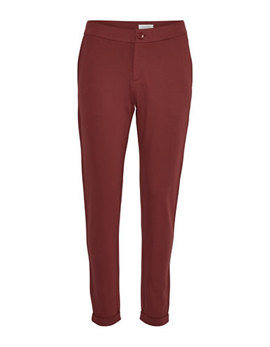 Part Two Mighty Dress Pants-RED-40