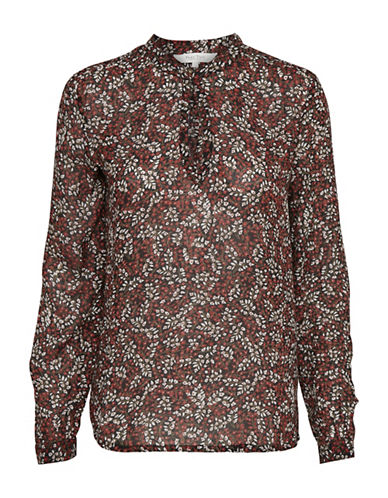 Part Two Iggy Floral Blouse-RED MULTI-36