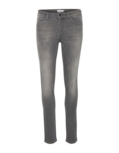 Part Two Alice Washed Skinny Jeans-GREY-29