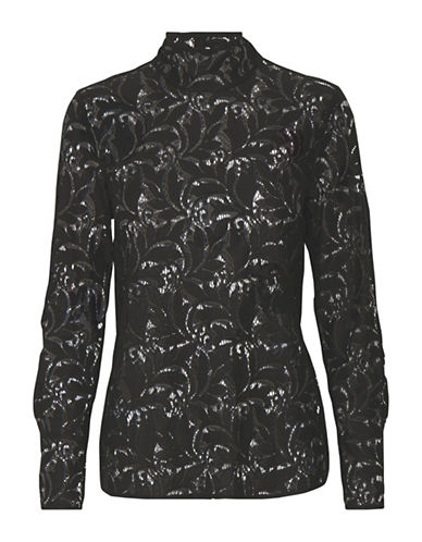 Part Two Jazzia Floral Blouse-BLACK-34