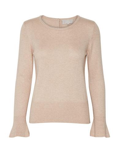 Inwear Kennedi Flare Sleeve Pullover-BEIGE-X-Small