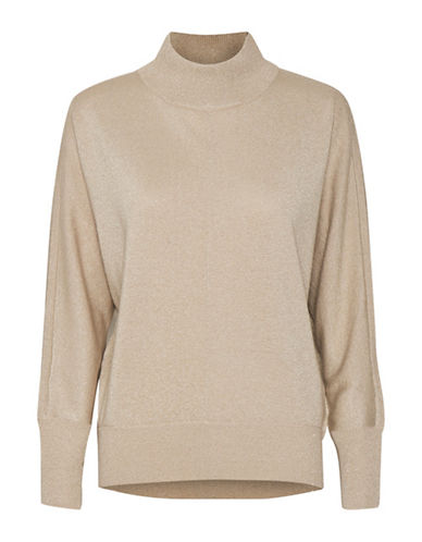 Inwear Karlee Turtleneck Sweater-BEIGE-X-Large