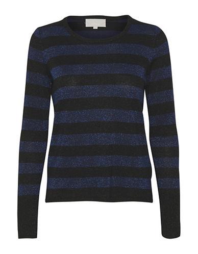 Inwear Karlee Stripe Sweater-BLUE-Large