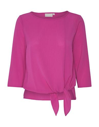 Inwear Dani Tie-Waist Blouse-PINK-42
