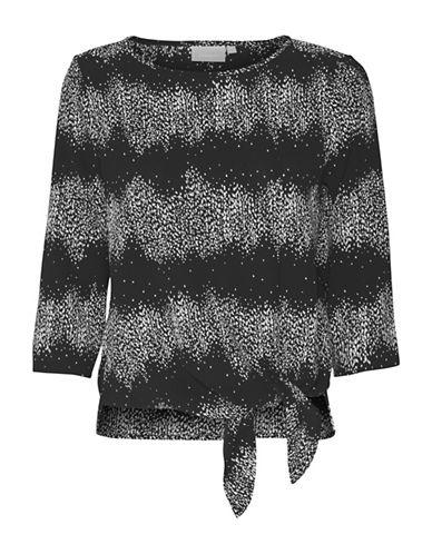 Inwear Dani Tie-Waist Blouse-BLACK-40